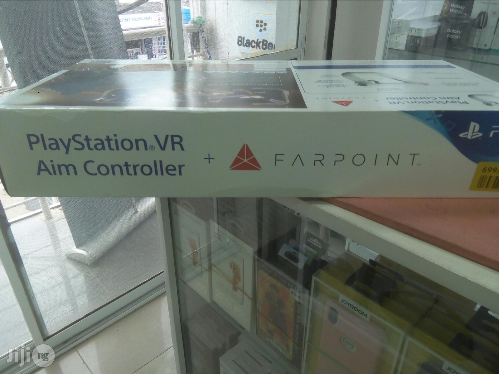 PS 4 VR Aim Controller +Farpoint   Accessories & Supplies for Electronics for sale in Ikeja, Lagos State, Nigeria