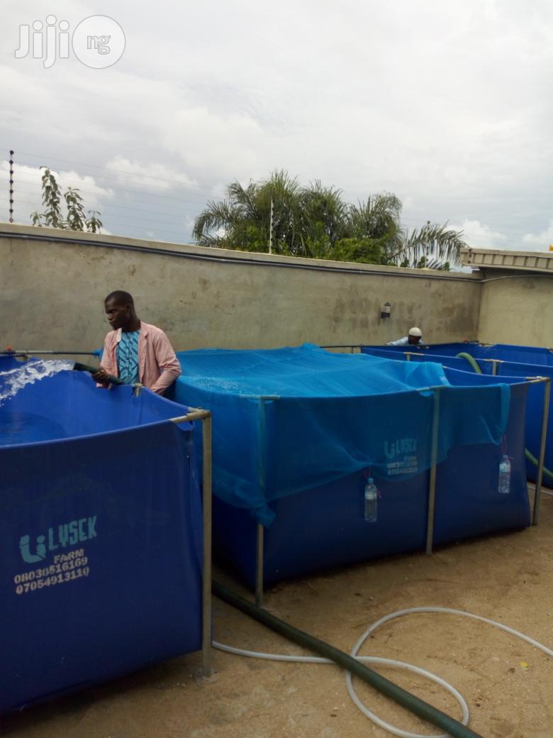 Fish Pond Pvc   Farm Machinery & Equipment for sale in Ilorin South, Kwara State, Nigeria