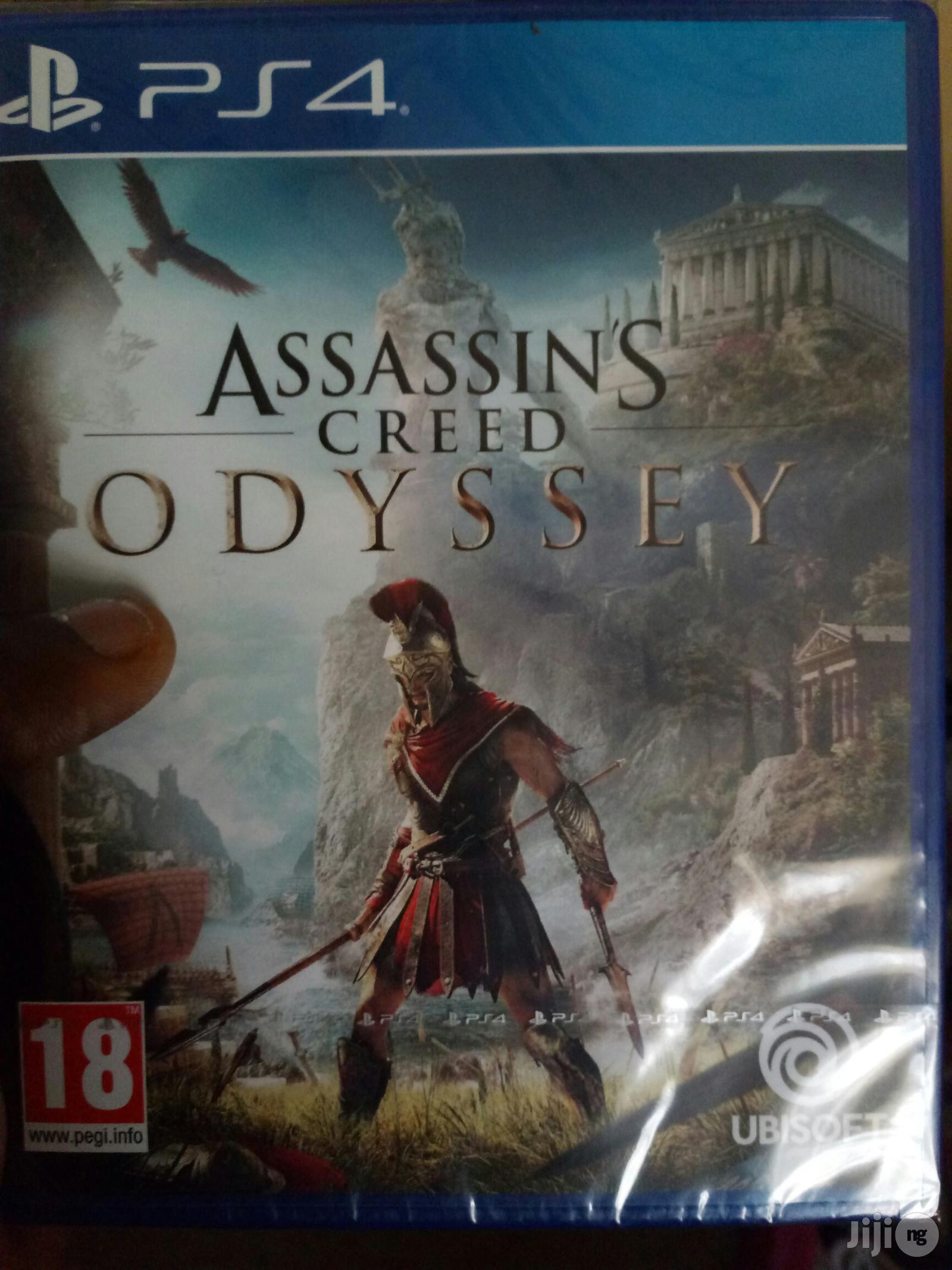 Ps4 Assassins Creed Odyssey In Agege Video Games Cheap Games Ng