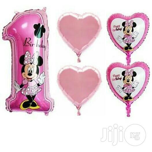 Archive: Mickey Mouse Ballon Set(5 Pieces)