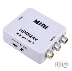 Mini HDMI to AV Converter - Full HD 1080p | Accessories & Supplies for Electronics for sale in Lagos State, Ikeja