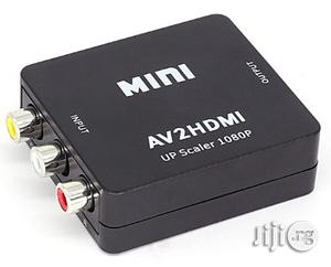 Generic Mini AV to HDMI Converter Box | Accessories & Supplies for Electronics for sale in Lagos State, Ikeja