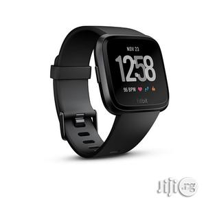 Fitbit Versa Smart Watch, Black | Smart Watches & Trackers for sale in Lagos State, Ikeja