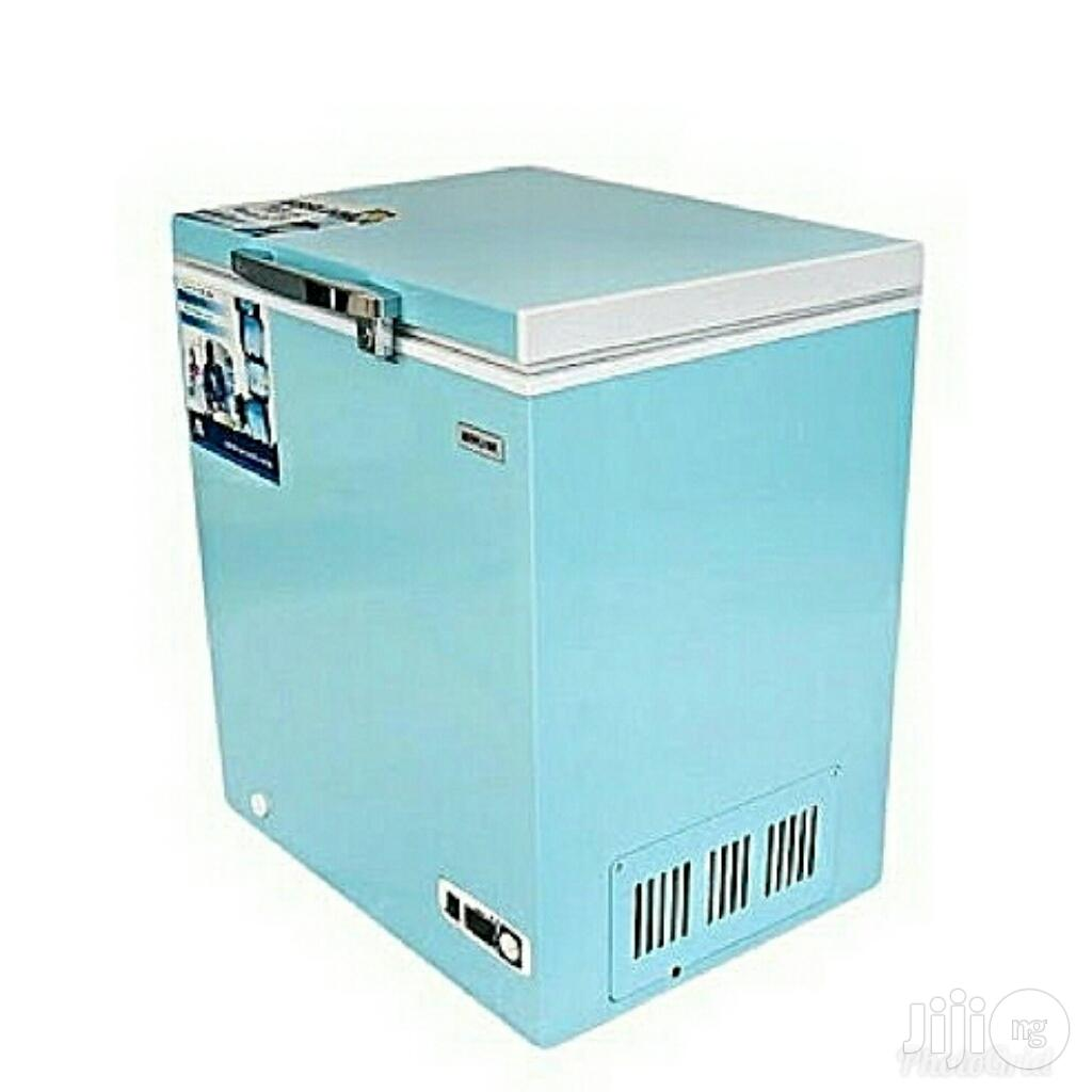 Bruhm 100ltrs Blossom Series Chest Freezer Silver SD100
