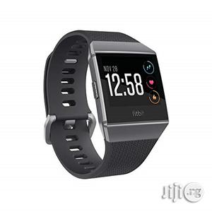 Fitbit Ionic Gps Smart Fitness Watch, Charcoal/Smoke Gray,   Smart Watches & Trackers for sale in Lagos State, Ikeja