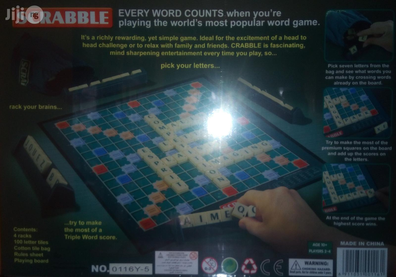 Scrabble Game | Books & Games for sale in Lagos Island, Lagos State, Nigeria
