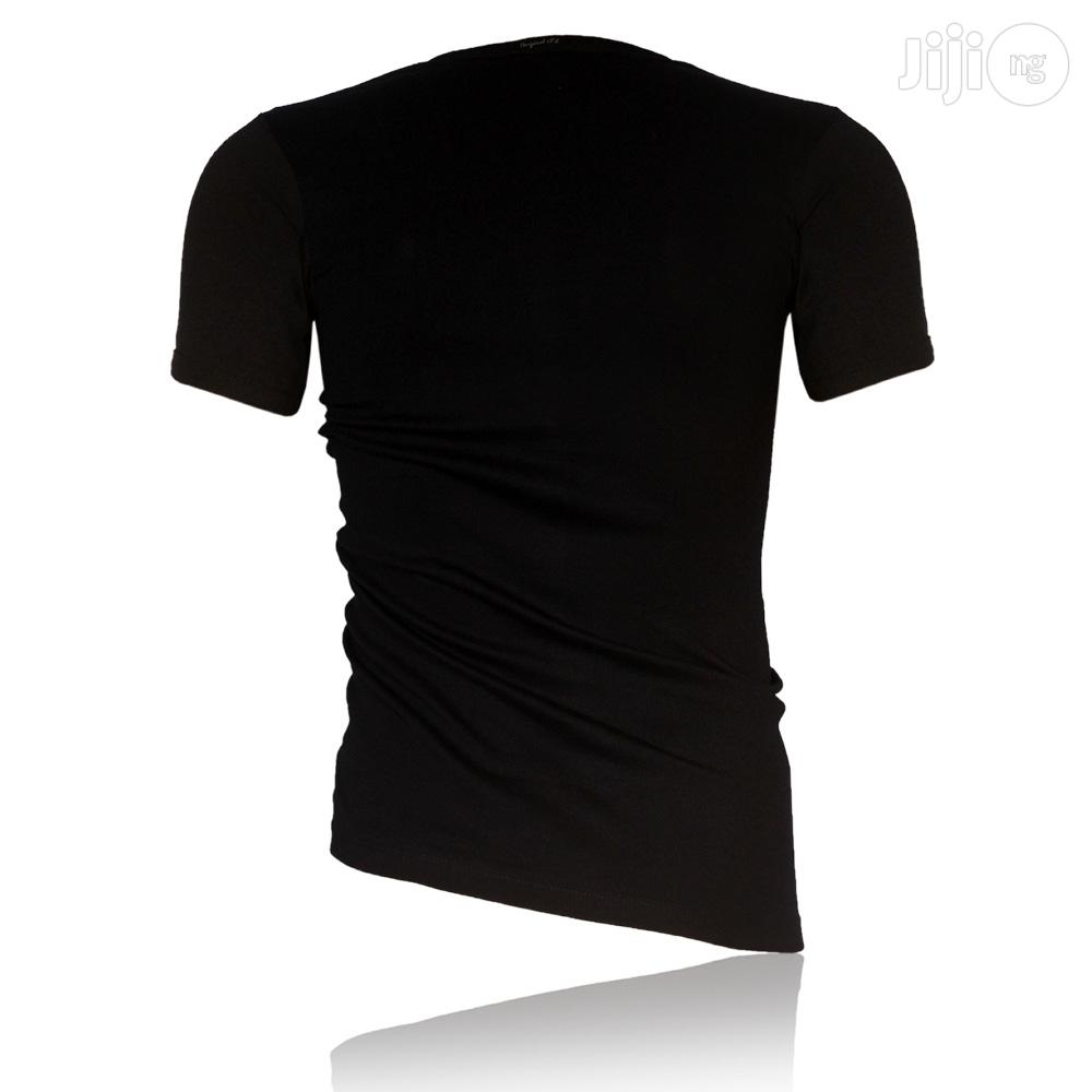 POLICE BRAND M - XL Black T Shirts   Clothing for sale in Surulere, Lagos State, Nigeria