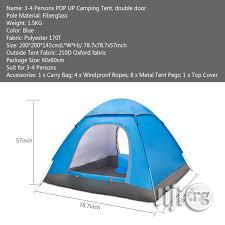 Perfect Camp Tent | Camping Gear for sale in Lagos State