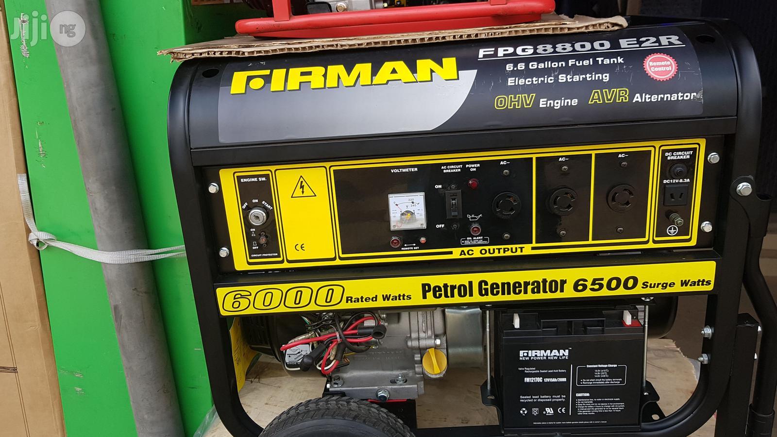 FIRMAN Generator | Electrical Equipment for sale in Ojo, Lagos State, Nigeria
