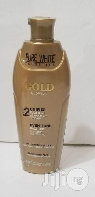 Pure White Gold Glowing Unifier Maxitone, 200ml