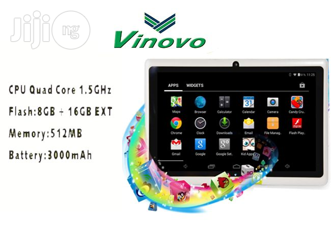 Vinovo Android Tablet 7 Inches 8GB
