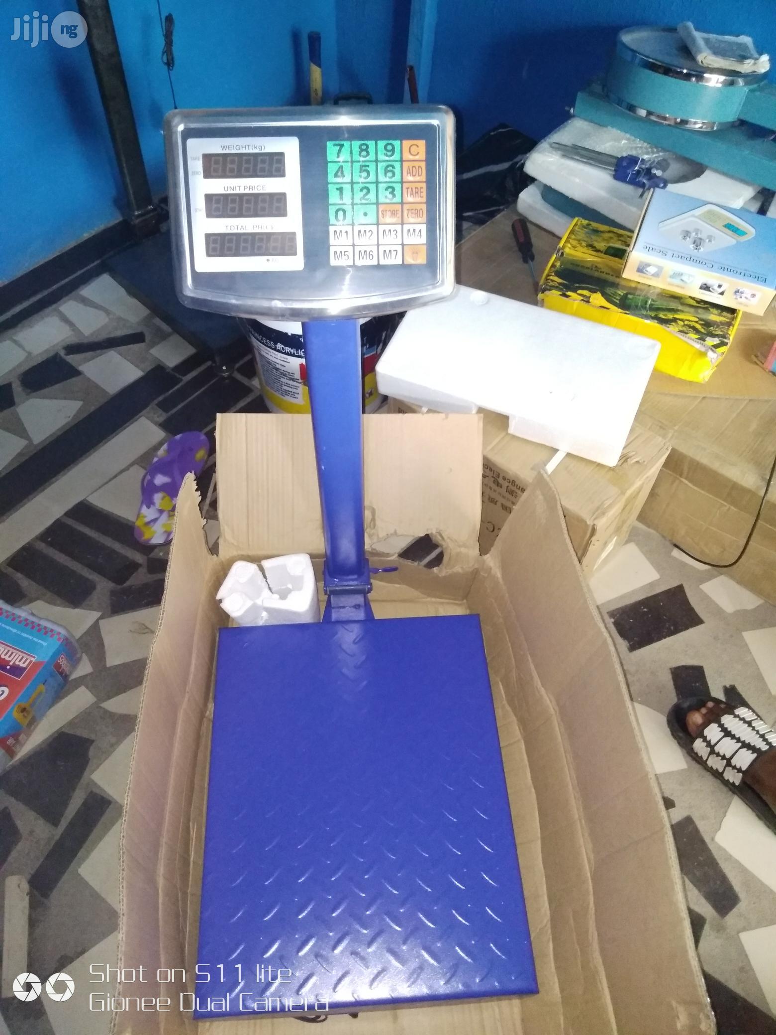 100kg Digital Scale | Store Equipment for sale in Amuwo-Odofin, Lagos State, Nigeria