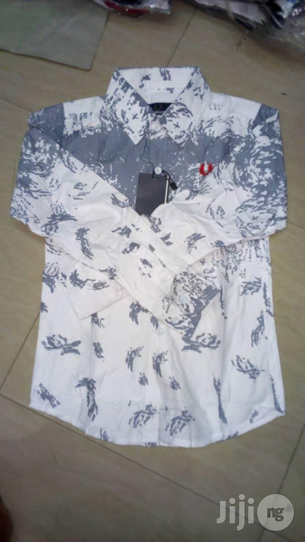 Boys Stock Long Slevee Shirts
