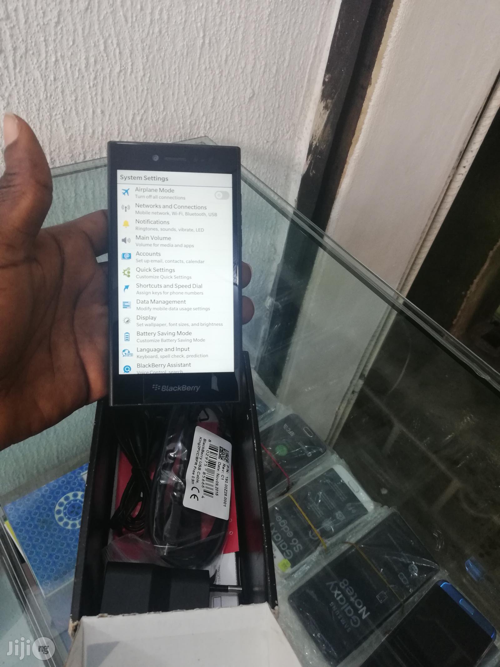 New BlackBerry Leap Black 16 GB | Mobile Phones for sale in Ikeja, Lagos State, Nigeria