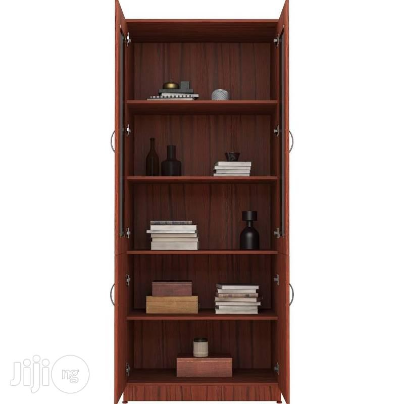 Kainji Cabinet With Transparent Plexi-glass Front - Large | Furniture for sale in Lagos State, Nigeria