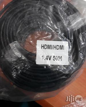 Hdmi Cable 50m Black With IC 4k | Accessories & Supplies for Electronics for sale in Lagos State, Ikeja