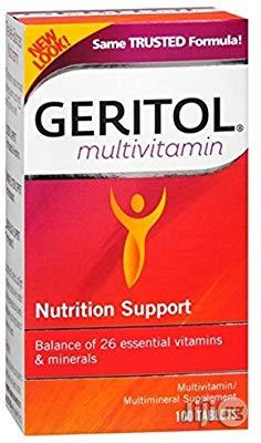 Geritol Complete Multivitamin Tablets for Blood, Bone, Energy Support | Vitamins & Supplements for sale in Lagos State, Victoria Island