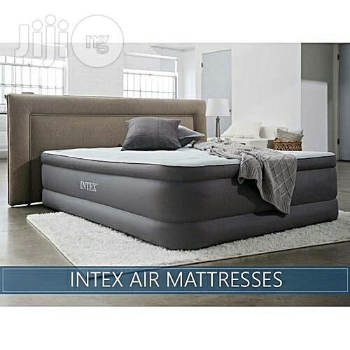 Intex Premaire Dream Support Air Bed Mattress With in Pump USB