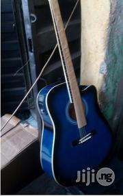 Guitar Acoustic That Can Use Electric And Battery | Musical Instruments & Gear for sale in Lagos State, Mushin
