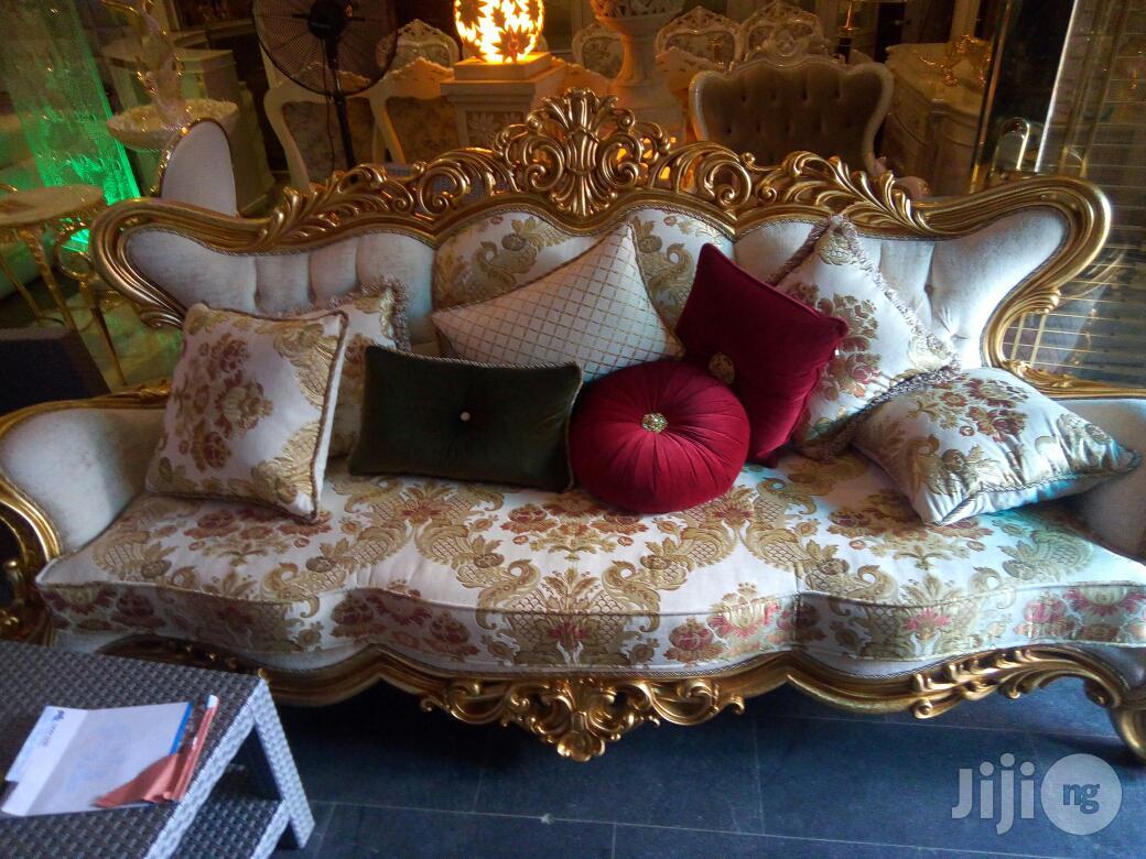 Latest Design for 2019 Turkish Royal Sofa Chair