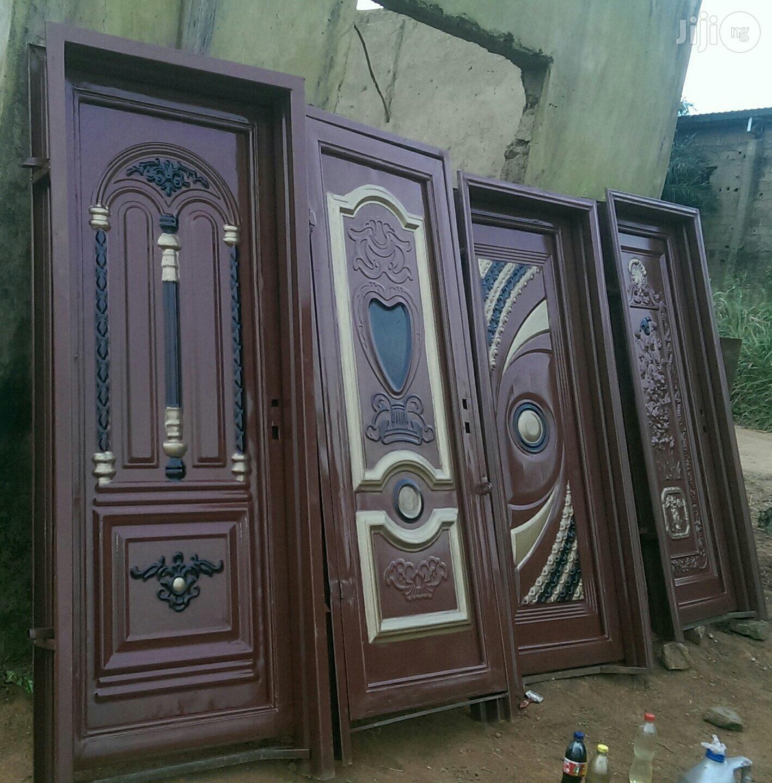 Strong Iron Door