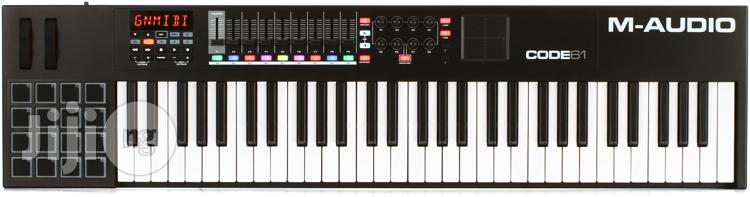 Code 61 USB MIDI Controller With X/Y Pad