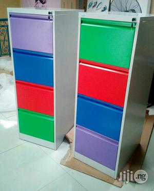 4 Drawers Quality Metal Cabinets | Furniture for sale in Lagos State