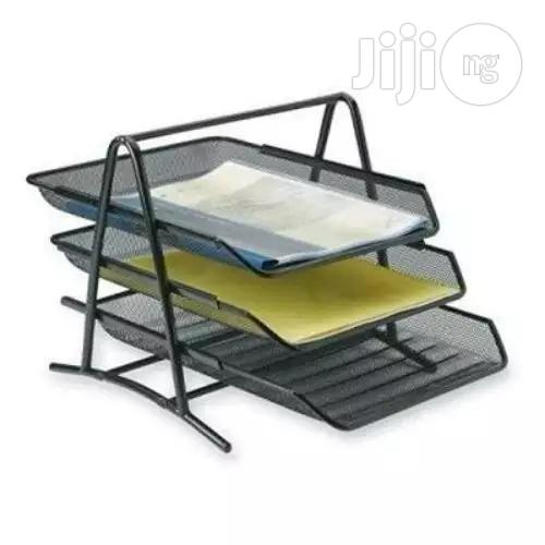 3-Tier File Document Tray