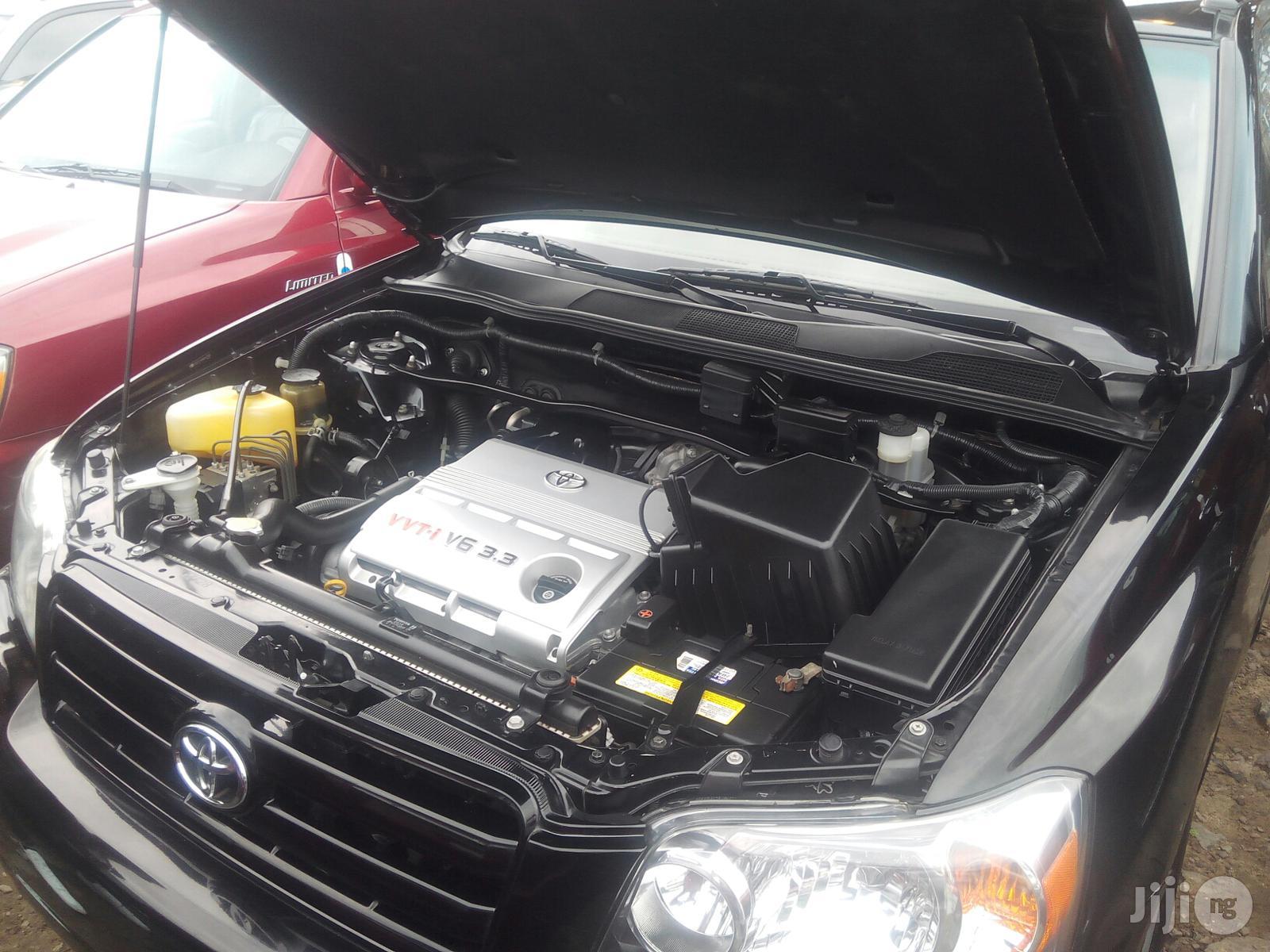 Toyota Highlander 2005 Limited V6 Black   Cars for sale in Amuwo-Odofin, Lagos State, Nigeria