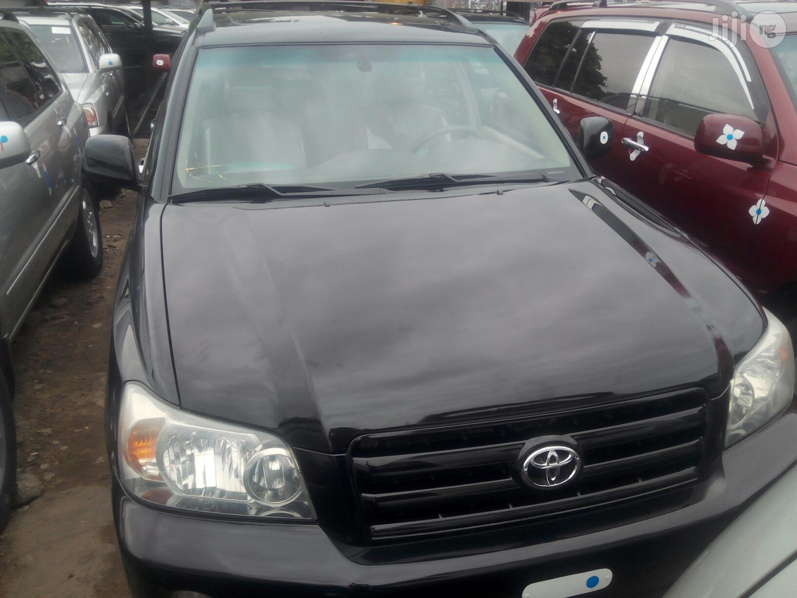 Toyota Highlander 2005 Limited V6 Black