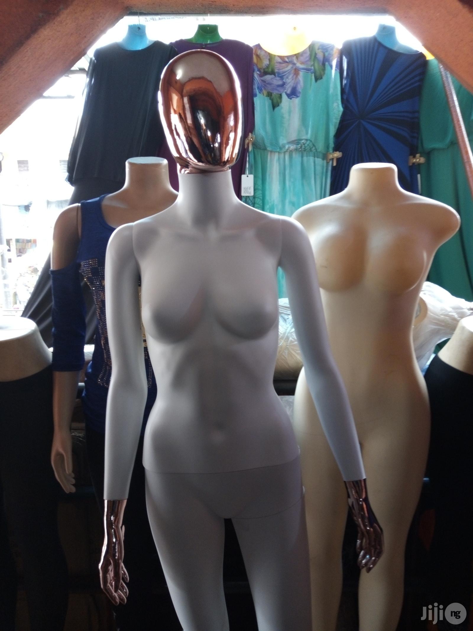 White And Gold Mix Mannequin.(Male And Female)   Store Equipment for sale in Lagos Island (Eko), Lagos State, Nigeria