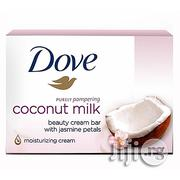 Dove Soap Tablet Coconut Milk 100gm By 6 Pack | Skin Care for sale in Lagos State, Surulere