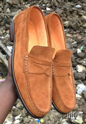001 Wear. Brown Suade Loafers Shoe | Shoes for sale in Lagos State, Lagos Island (Eko)