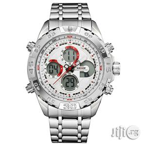 Weide Analog and Digital Chain Wrist Watch | Watches for sale in Lagos State, Lagos Island (Eko)