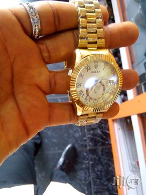 Rolex Watch For Men (Gold)   Watches for sale in Rivers State, Port-Harcourt