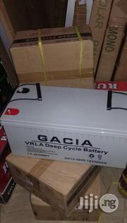 Gacia 12v200ah Lead Acid Deep Cycle Battery | Solar Energy for sale in Lagos State, Ikeja