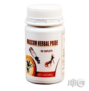 Treat Weak Erection And Quick Ejaculation With Mascum Herbal Pride | Sexual Wellness for sale in Lagos State, Apapa