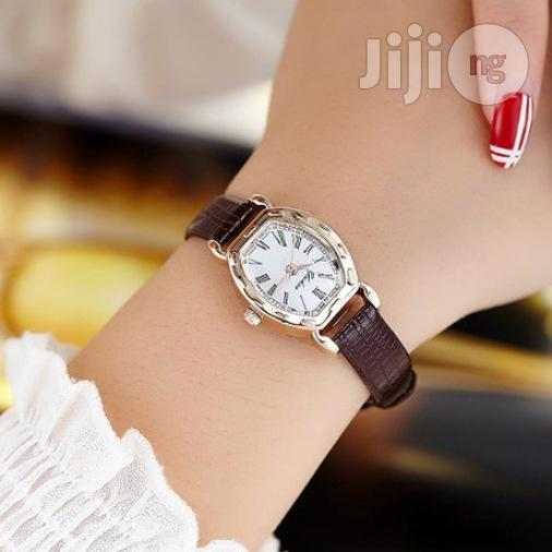 Female Leather Wrist Watch: | Watches for sale in Kosofe, Lagos State, Nigeria