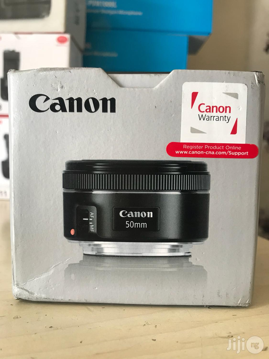 Canon EF 50mm F/1.8 STM Lens   Accessories & Supplies for Electronics for sale in Port-Harcourt, Rivers State, Nigeria