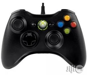 Xbox 360 Microsoft Xbox 360 Wired Controller - Black | Accessories & Supplies for Electronics for sale in Lagos State, Ikeja