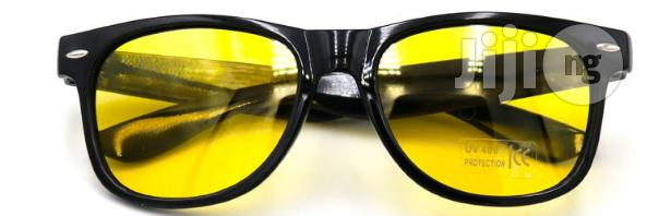 Unisex HD Night Vision Glasses | Clothing Accessories for sale in Ikeja, Lagos State, Nigeria