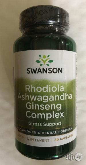 Rhodiola Ashwagandha Ginseng Complex for Energy and Immunity   Vitamins & Supplements for sale in Lagos State, Victoria Island