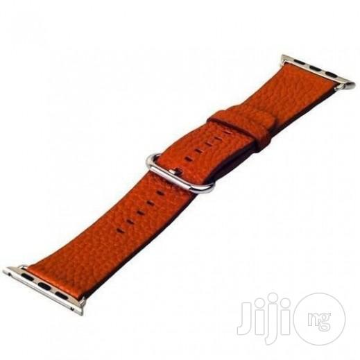 Apple Watch Strap Leather 42mm-brown