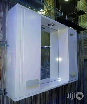 Two Door Cabinet Mirror   Furniture for sale in Lagos State, Amuwo-Odofin