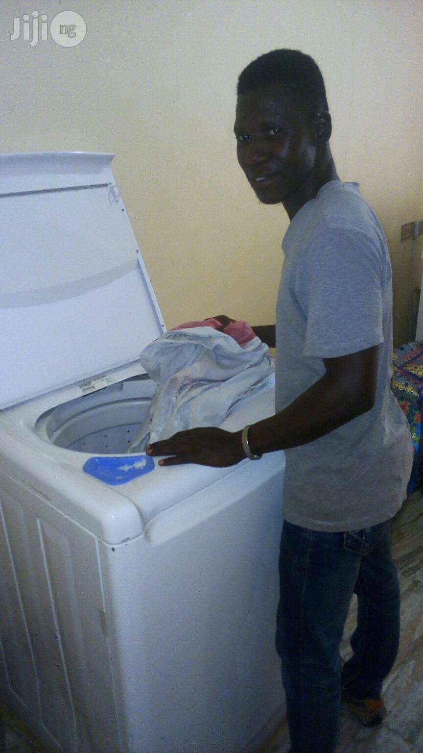 Seeking For House Laundryman Job