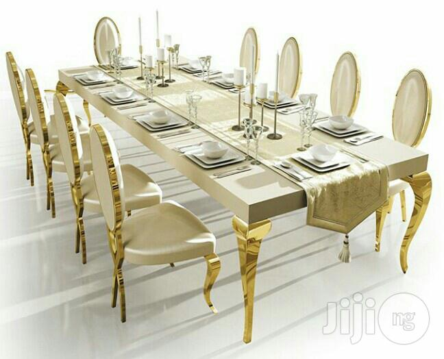 8 Seaters Marble Dining Table