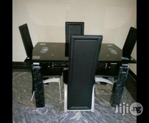 Four Seater Glass Dining. | Furniture for sale in Lagos State, Lagos Island (Eko)