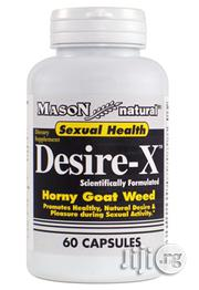 Mason Desire-x 60 Capsules Mason Natural | Sexual Wellness for sale in Lagos State, Lekki Phase 1