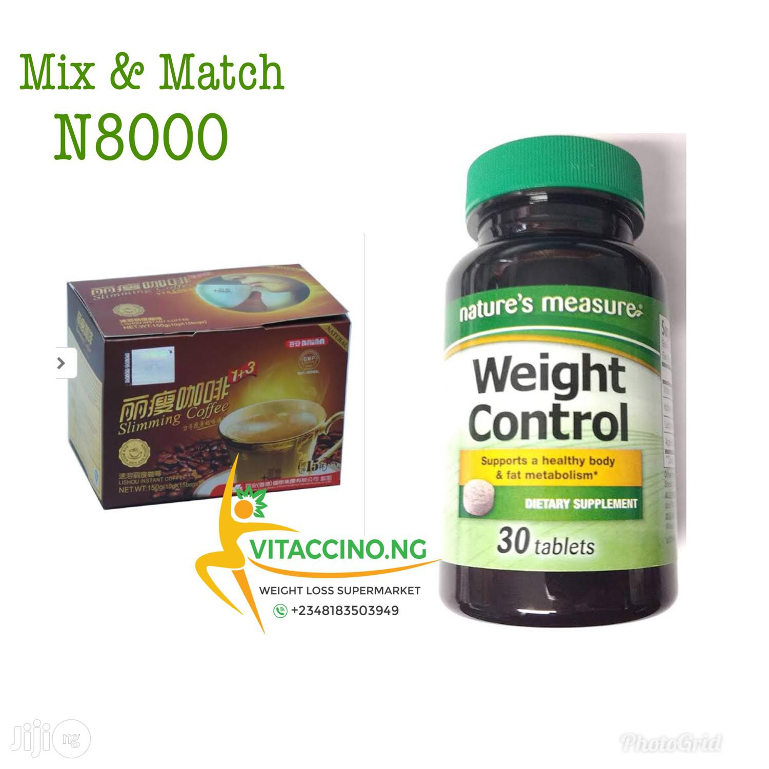 Lishou Slimming Coffee and Measure Weight Pills