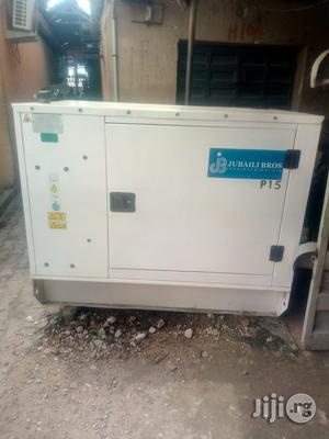 Jubaili Bros 15KVA Soundproof Generator With 2yrs Warranty. | Electrical Equipment for sale in Lagos State, Ojo